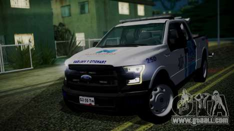 Ford F-150 2015 Towtruck for GTA San Andreas