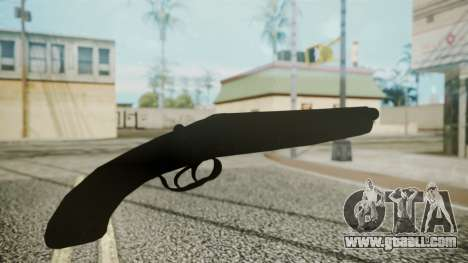 Sawnoff Shotgun (Iron Version) for GTA San Andreas third screenshot