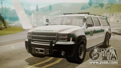 GTA 5 Declasse Granger Park Ranger for GTA San Andreas