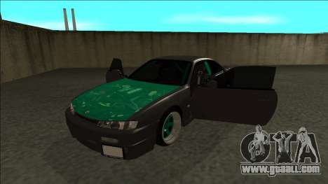 Nissan 200sx Drift for GTA San Andreas back view
