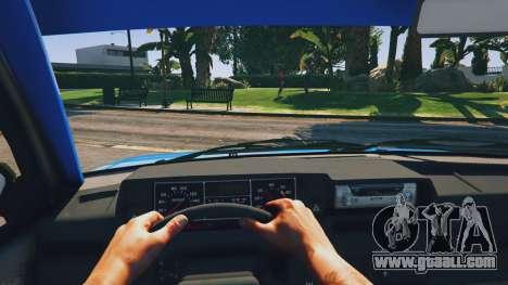 GTA 5 Ваз 21093i (Tunable) v1.1 [FINAL] back view