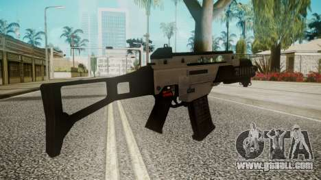 G36C Silver for GTA San Andreas second screenshot