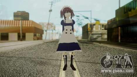 Mey-Rin [Kuroshitsuji] for GTA San Andreas second screenshot