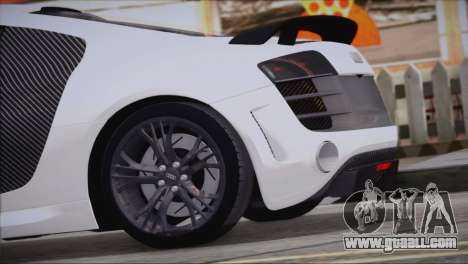 Audi R8 GT 2012 Sport Tuning V 1.0 for GTA San Andreas left view