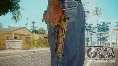 Desert Eagle by EmiKiller for GTA San Andreas third screenshot