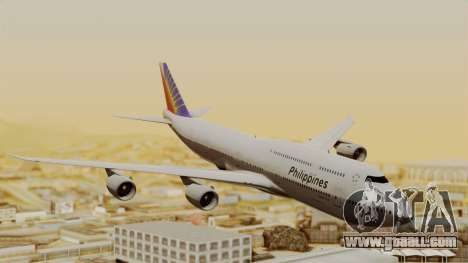 Boeing 747-8I Philippine Airlines for GTA San Andreas