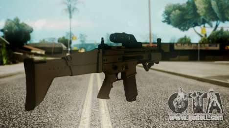 SCAR-L Custom for GTA San Andreas second screenshot