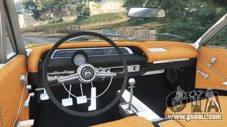 GTA 5 Chevrolet Impala SS 1964 rear right side view
