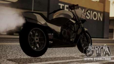 GTA 5 Dinka Thrust for GTA San Andreas left view