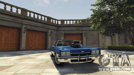 GTA 5 Chevrolet Impala 1972 right side view