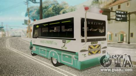 Chevrolet B70 Bus Colombia for GTA San Andreas left view