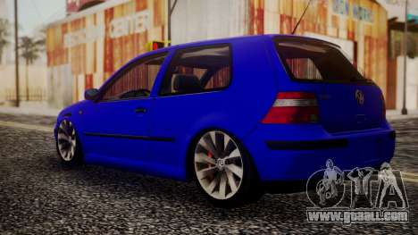 Volkswagen Golf 4 for GTA San Andreas left view