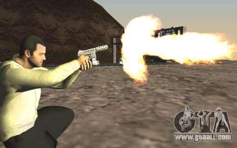 GTA 5 Tec-9 for GTA San Andreas fifth screenshot