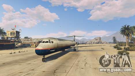 GTA 5 McDonnell Douglas MD-80 fourth screenshot