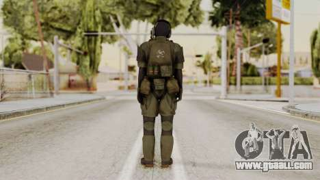 MGSV Ground Zero MSF Soldier for GTA San Andreas third screenshot