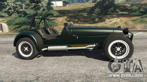 GTA 5 Caterham Super Seven 620R left side view