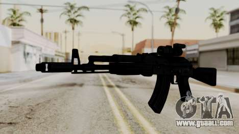 AK-103 with Rifle Dot Aimpoint M2 for GTA San Andreas