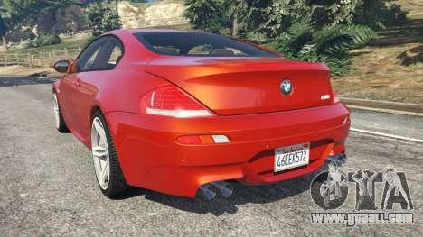 BMW M6 (E63) Tunable v1.0 for GTA 5