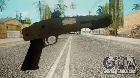 Sawnoff Shotgun by EmiKiller for GTA San Andreas second screenshot