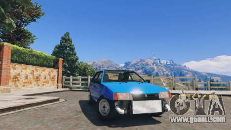 GTA 5 Ваз 21093i (Tunable) v1.1 [FINAL] front right side view