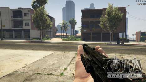 MW3 MP5 for GTA 5