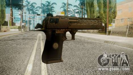 Desert Eagle by EmiKiller for GTA San Andreas second screenshot