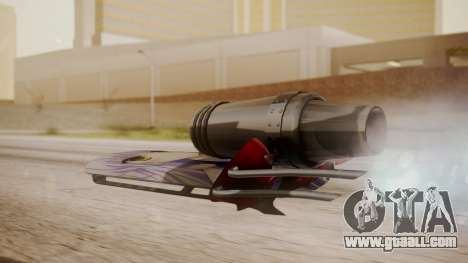 Hovercraft Anime for GTA San Andreas left view