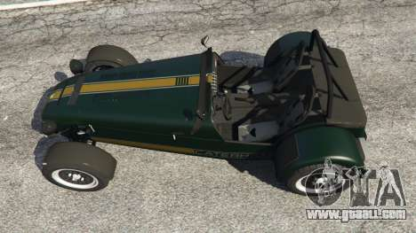 GTA 5 Caterham Super Seven 620R back view