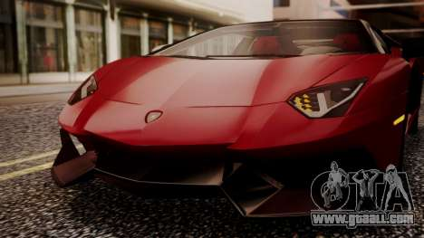 Lamborghini Aventador MV.1 for GTA San Andreas side view