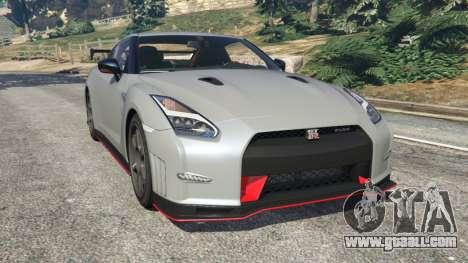 Nissan GT-R Nismo 2015 v1.1 for GTA 5