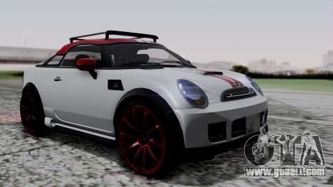Mini Cooper S Weeny Issi for GTA San Andreas