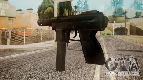Tec 9 by catfromnesbox for GTA San Andreas second screenshot