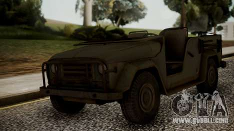 UAZ MGS5 TPP for GTA San Andreas