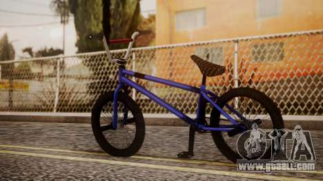 Nueva BMX for GTA San Andreas left view