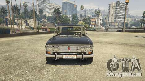 GTA 5 VAZ 2103 rear right side view