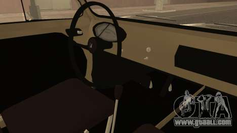 Vespa 400 1958 for GTA San Andreas right view