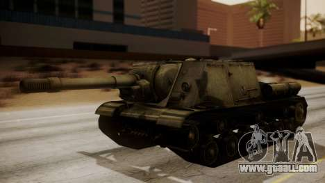 ISU-152 from World of Tanks for GTA San Andreas