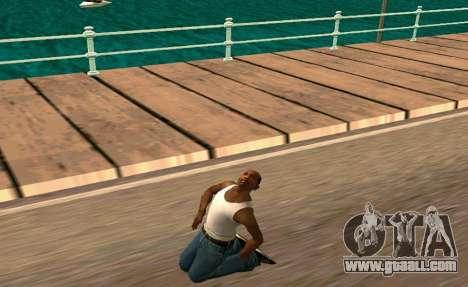 50 Animations v1.0 for GTA San Andreas second screenshot