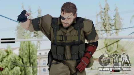 MGSV Phantom Pain Snake (Olive Drab Version) for GTA San Andreas