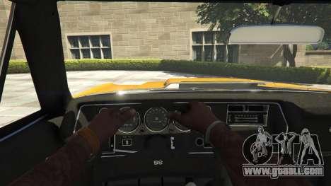 Chevrolet El Camino SS 1970 for GTA 5