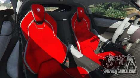 GTA 5 Ferrari LaFerrari 2013 v3.0 front right side view