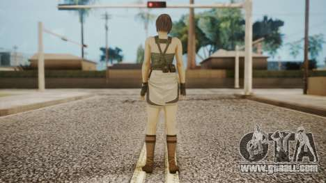 Resident Evil Remake HD - Jill Valentine for GTA San Andreas