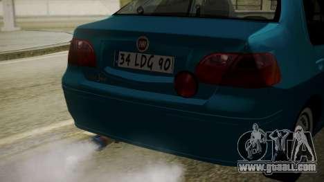 Fiat Albea Sole for GTA San Andreas back view