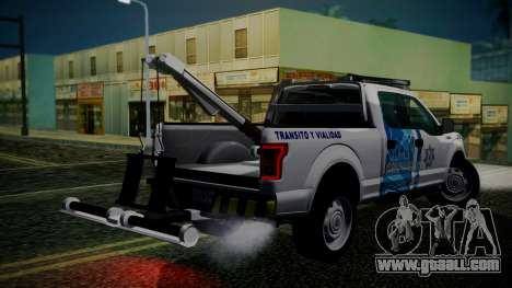 Ford F-150 2015 Towtruck for GTA San Andreas left view