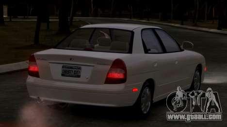 Daewoo Nubira II Sedan SX USA 2000 for GTA 4 right view