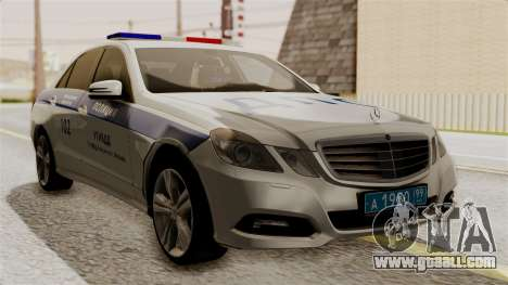 Mercedes-Benz E500 interior Ministry traffic pol for GTA San Andreas