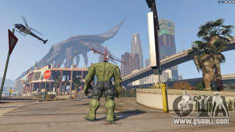 GTA 5 The Hulk third screenshot