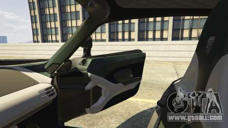 GTA 5 Porsche Carrera GT 1.2 steering wheel