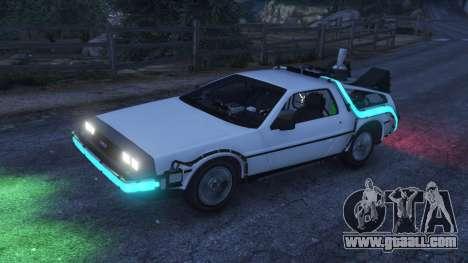 DeLorean DMC-12 Back To The Future v0.5 for GTA 5