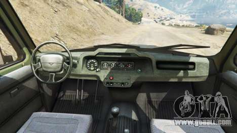 GTA 5 UAZ-3159 bars v2.0 rear right side view